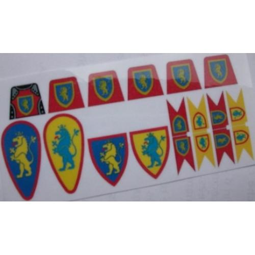 Castle Sticker Set Crusaders II